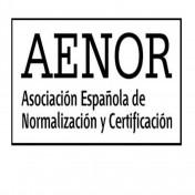 logotipo de AENOR - Asociación Española de Normalización y Certificación