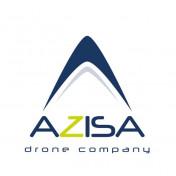 logotipo de AZISA Drones