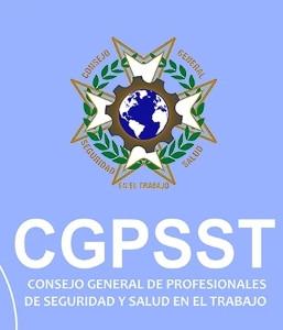 logotipo de CGPSST - Consejo General de Profesionales de Seguridad y Salud en el Trabajo